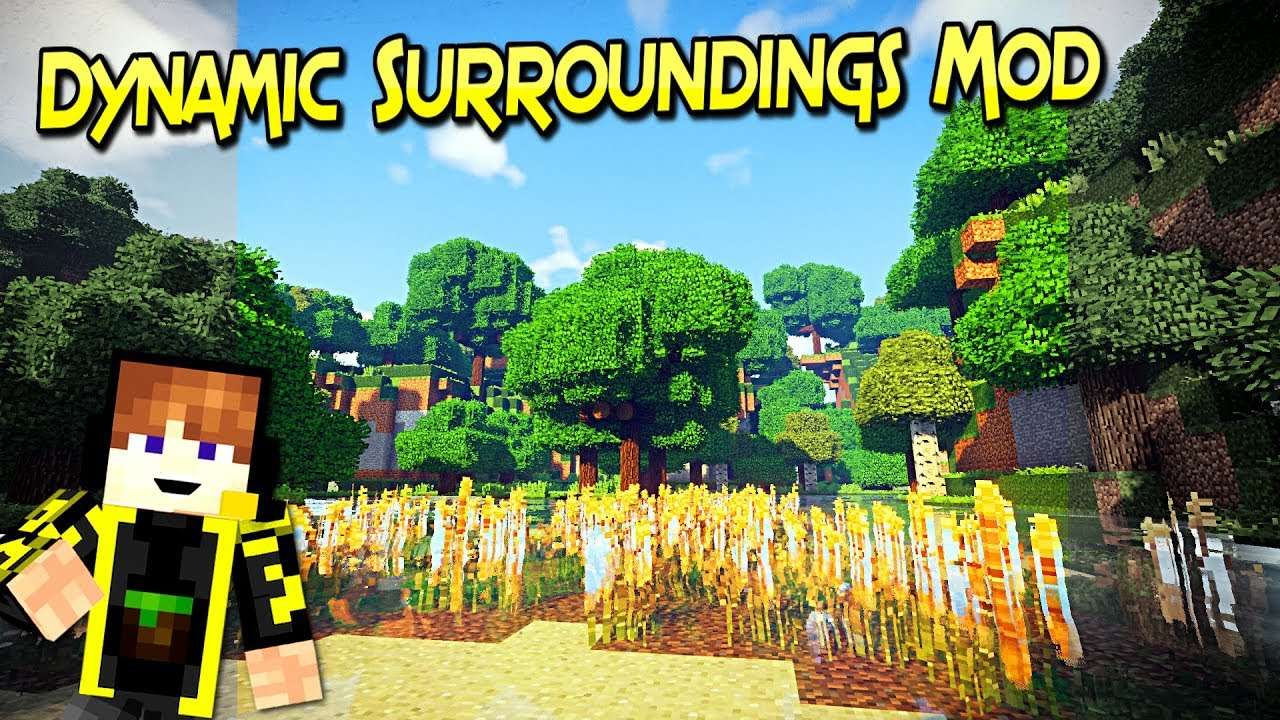 Dynamic Surroundings Mod | Tu Aventura Mas Realista | Minecraft 1 12 2 –  1 7 10 | Review Español