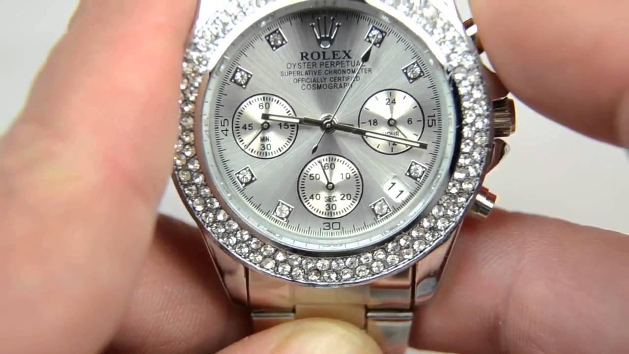 Шикарные ювелирные Часы фирмы Royal Crown с цирконием! - YouTube