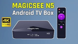 أفضل Android TV Box-MAGICSEE N5 | أفضل منتج