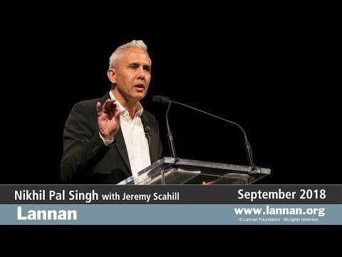 Nikhil Pal Singh, Talk, 26 September 2018