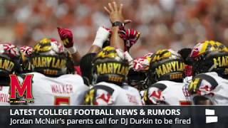 College Football News & Rumors: DJ Durkin Update, Najee Harris Injury, Urban Meyer & OSU Recruiting
