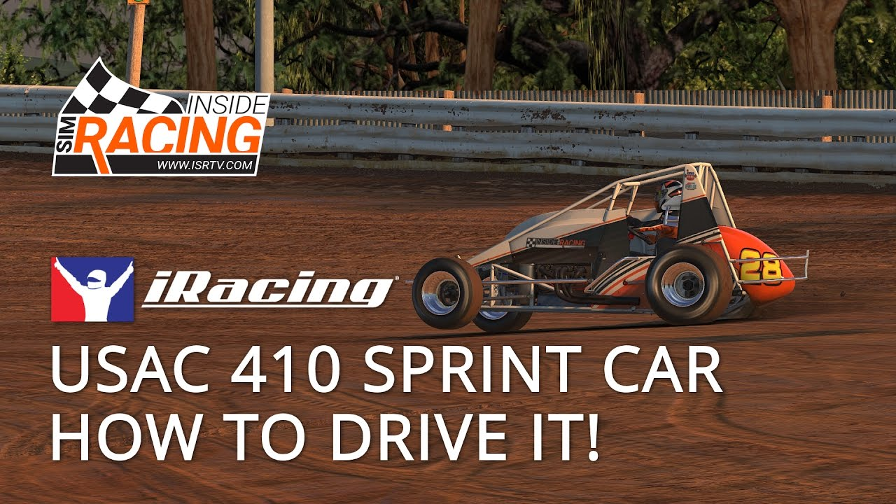 Iracing Usac 410 Sprint Car Test Drive How To Drive It Youtube