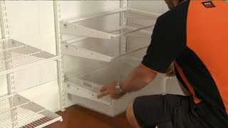 How To Install Home Storage Systems | Mitre 10 Easy As