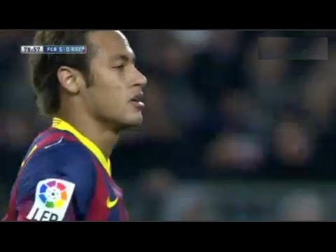 Barcelona vs  Rayo Vallecano 6-0 | All Goals & Highlights | 15.02.2014 Neymar returns Videos De Viajes