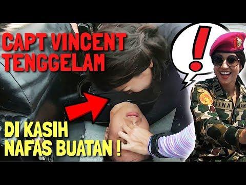 TADINYA KETAWAIN, MISS INDONESIA MALAH PANIK!! CAPT VINCENT TENGGELAM DI LAUT LEPAS - No Click Bait