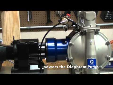 Graco 1050e electric diaphram pump youtube graco 1050e electric diaphram pump ccuart Gallery