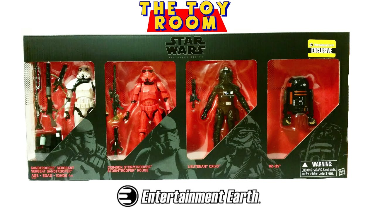 star wars black series entertainment earth exclusive 4 pack figure review youtube. Black Bedroom Furniture Sets. Home Design Ideas
