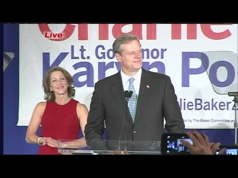 Charlie Baker elected next Massachusetts Governor