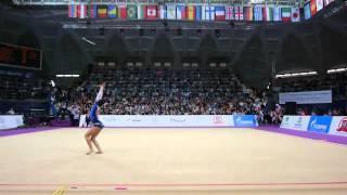 Гимнастка из Грузии просто рвет зал ! Это надо видеть