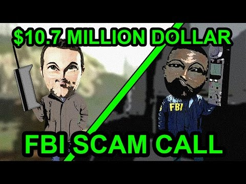 FBI Scammer Wants To Give Me 10.7 Million Dollars - The Hoax Hotel