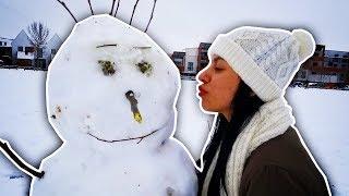 CRAZY SNOW STORM! - VLOG #36 -