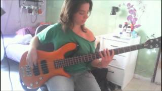 The Trammps Disco Inferno BASS COVER