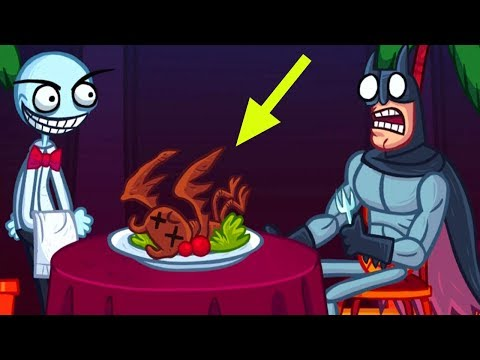 Troll Face internet Memes All Level Walkthrough Hint + Secret Level Funny Troll Gameplay