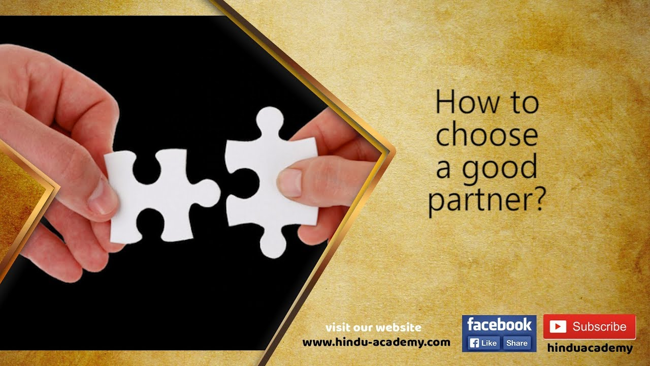 How to choose a good partner? - YouTube