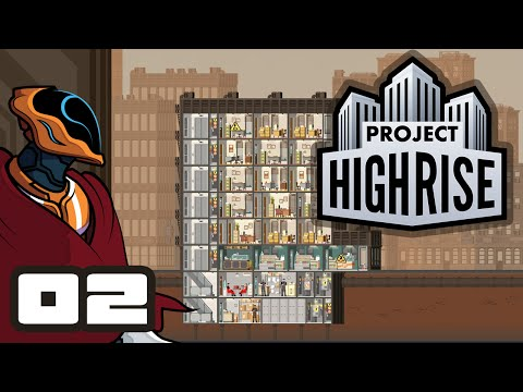 Let's Play Project Highrise - Gameplay Part 2 - Cutting It Close