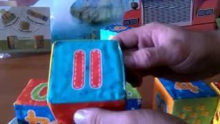 Мягкие кубики Влади тойз обзор игрушек.