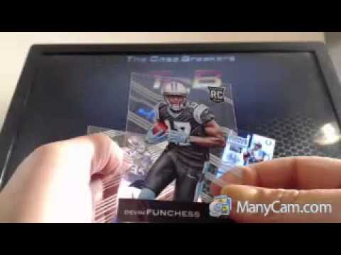 2015 CLEAR VISION FOOTBALL 18 BOX CASE BREAK MELVIN GORDON BECKHAM AUTO