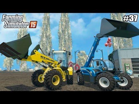 Farming Simulator 15 моды: БЕСПЛАТНОЕ ОБНОВЛЕНИЕ (37 серия) (1080р)