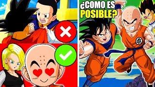 7 Cosas que Krillin Puede Hacer y Goku NO
