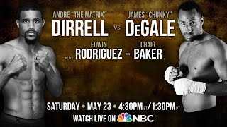 Dirrell vs. DeGale - May 23 - PBC on NBC