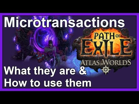 [Pre-3.0 / old system] Microtransactions in Path of Exile: what are they & how do you use them?