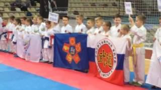 Открытие соревнований в Щелково
