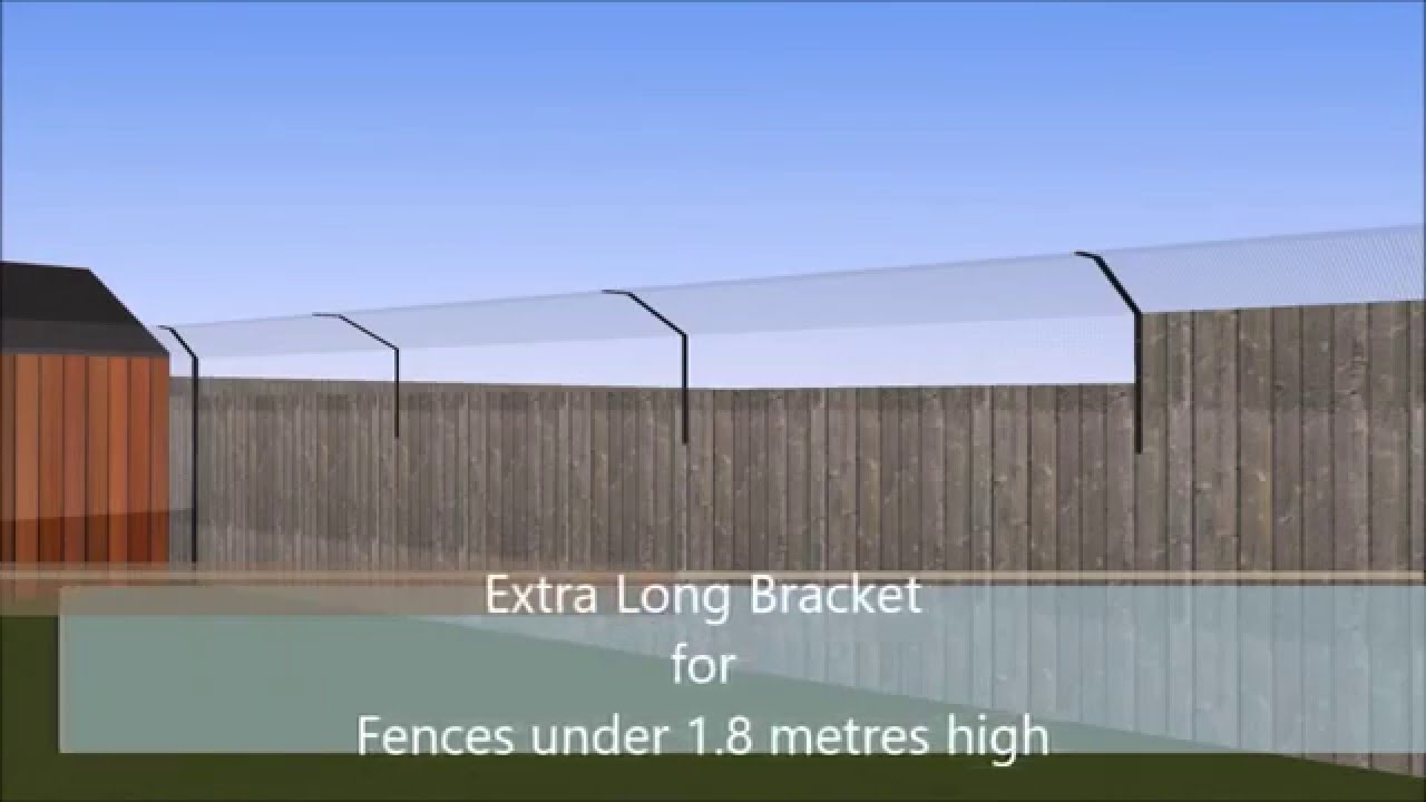 protectapet cat fence and cat enclosure bespoke cad