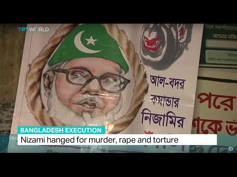 Jamaat-e-Islami leader Nizami executed in Bangladesh, Ali Mustafa reports