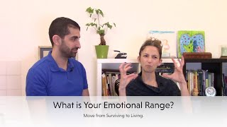What is your emotional range? Are you just surviving or LIVING?