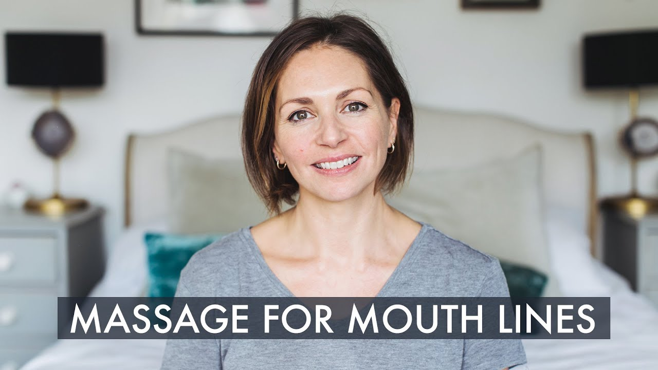 How to get rid of mouth lines with massage