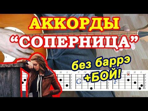 Соперница Аккорды 🎸 Алена Швец ♫ Разбор песни на гитаре ♪ Бой Текст
