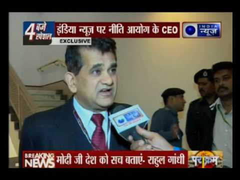 Cashless India: CEO of NITI Aayog Amitabh Kant speaks exclusively to India News