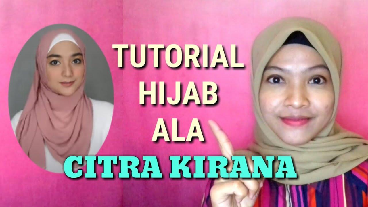 Tutorial Hijab Ala Citra Kirana Tutorial Hijab Pashmina Dan Segi Empat Youtube