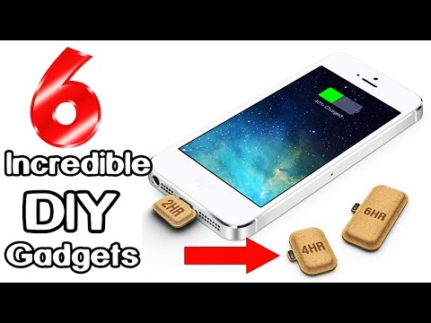 6 Incredible DIY Gadgets you can make at home | Life hacks