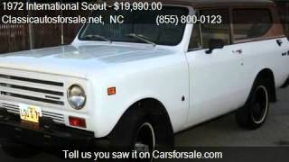 1972 International Scout  for sale in Nationwide, NC 27603 a #VNclassics