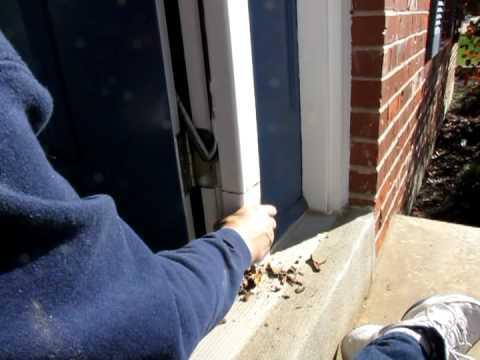 Home door frame repair replacing rotten wood how to - How to repair a rotted exterior door frame ...