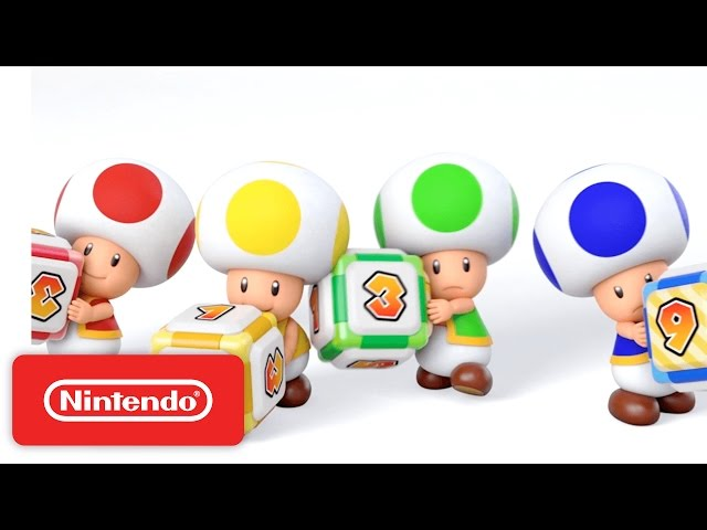 Mario Party Star Rush - Mini-games & Multiplayer Trailer