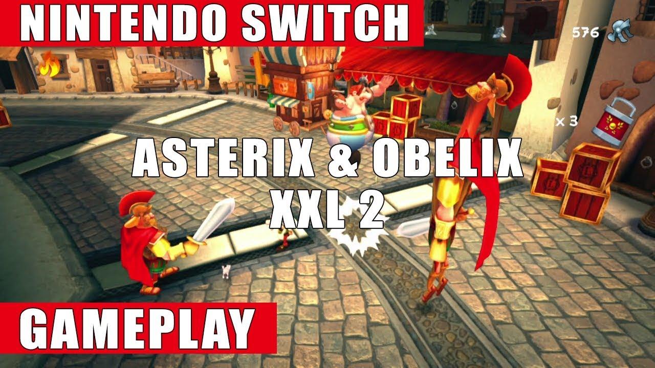 Asterix Obelix Xxl 2 Nintendo Switch Gameplay Youtube