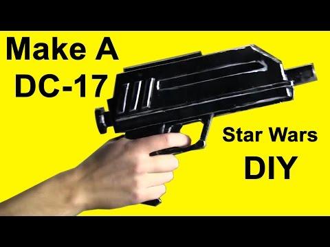 How to Make a DC-17 (Star Wars Blaster DIY)