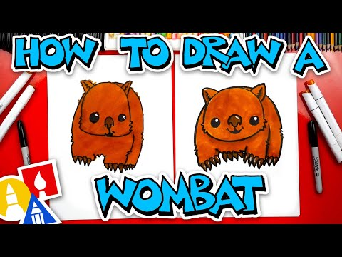 How To Draw A Wombat