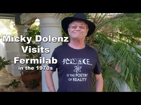 Micky Dolenz visits Fermilab in the 1970s