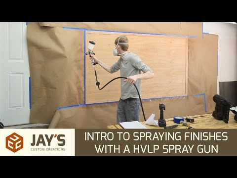 Intro to Spraying Finishes With a HVLP Spray Gun - 241