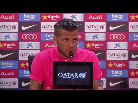 Interview - Dani Alves Wants To Be Remembered At Barcelona