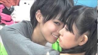 NMB48渡辺美優紀(SKE48兼任)と木下百花が今話題のHKT48 のなこみくの...