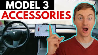 Top 10 MUST-HAVE Tesla Model 3 Accessories in 2020