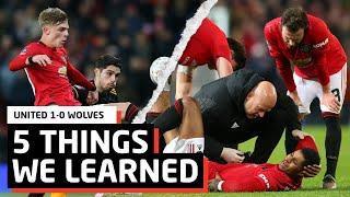 5 Things We Learned vs Wolves   MUN 1-0 WOL