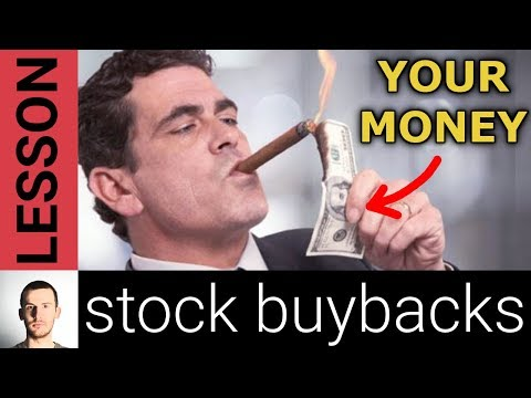 Stock Buybacks, Explained (and why many share buybacks are bad for long term investors)