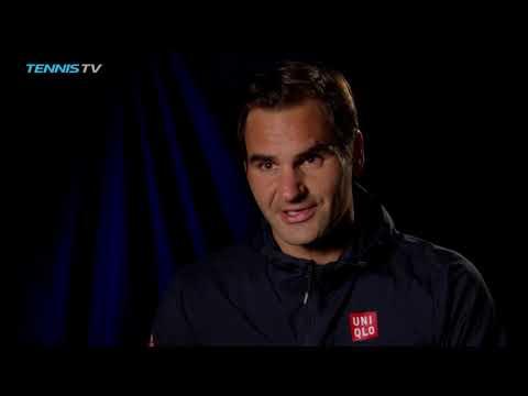 Federer Discusses Double Duty Day In Cincinnati 2018