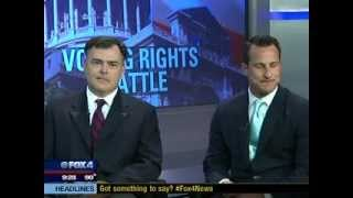 Chris Gober debates Attorney General Eric Holder