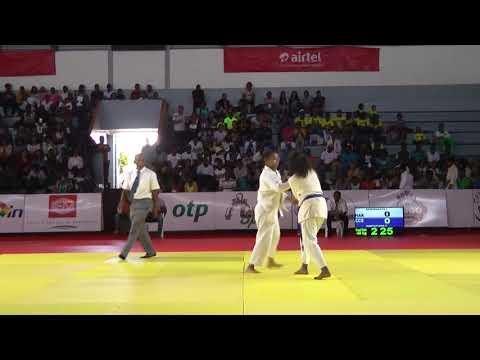 Championnat de Mada 2018 minime  -48kg Ramorasata I HAK vs Hantatiana P CCS